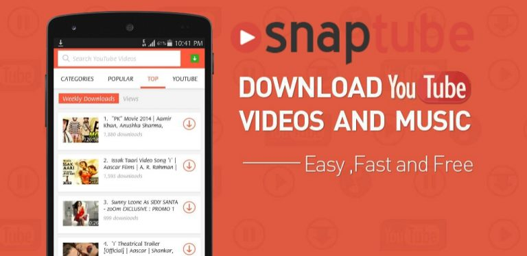 Download and install SnapTube on PC or MAC [Video/Music